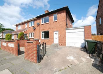 Thumbnail 2 bed semi-detached house to rent in Taylor Avenue, Wideopen, Newcastle Upon Tyne
