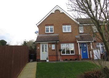 Thumbnail 3 bed end terrace house for sale in Tymecrosse Gardens, Market Harborough