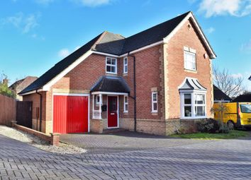 Thumbnail 4 bed detached house for sale in Clarence Drive, Camberley