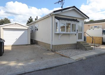 Thumbnail 2 bed mobile/park home for sale in Shirkoak Park, Bethersden Road, Woodchurch, Ashford, Kent