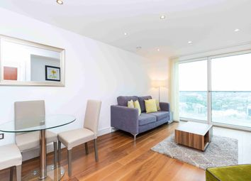 Thumbnail 1 bed flat to rent in Lincoln Plaza, London, Greater London