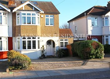 Thumbnail 4 bed semi-detached house for sale in Herrongate Close, Enfield, Middlesex