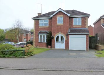 Thumbnail 4 bed detached house for sale in Tadcaster Close, Daventry