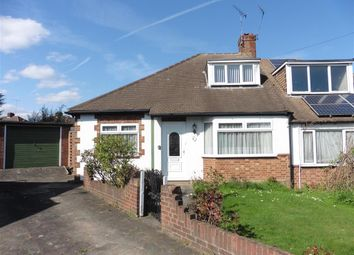 Thumbnail 2 bed semi-detached bungalow for sale in Mariam Gardens, Hornchurch, Essex