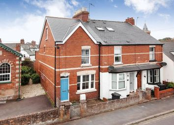 Thumbnail 3 bed terraced house for sale in Chapel Road, Lympstone, Exmouth