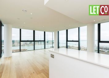 Thumbnail 3 bedroom flat to rent in Ocean Way, Ocean Village, Southampton