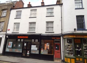 Thumbnail 1 bed flat to rent in The Borough, Canterbury