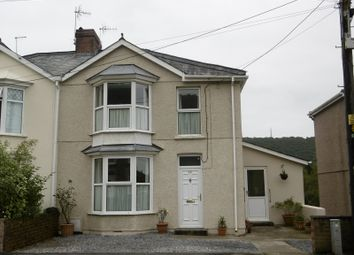 Thumbnail 3 bed semi-detached house for sale in Brecon Road, Pontardawe, Swansea.