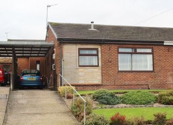Thumbnail 3 bed semi-detached bungalow for sale in Thornham Crescent, Kirkby-In-Ashfield, Nottingham