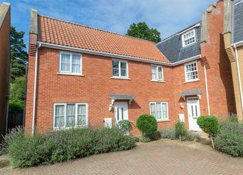 Thumbnail 3 bed semi-detached house for sale in Sculpher Gardens, Fakenham