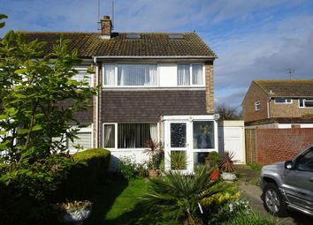 Thumbnail 3 bed semi-detached house for sale in Boxgrove, Goring-By-Sea, Worthing