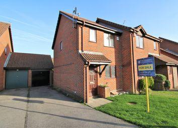 Thumbnail 2 bed semi-detached house for sale in Balmoral Way, Hatch Warren, Basingstoke