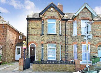 Thumbnail 3 bed end terrace house for sale in Warren Road, Folkestone, Kent