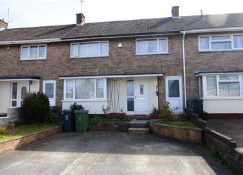 Thumbnail 4 bedroom terraced house for sale in Milverton Road, Llanrumney, Cardiff