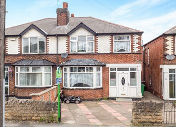 Thumbnail 3 bed semi-detached house for sale in Chadwick Road, Nottingham