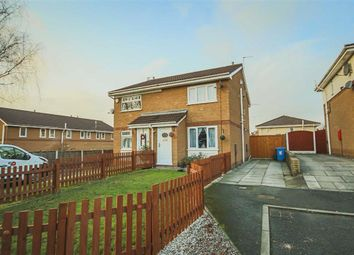 Thumbnail 2 bed semi-detached house for sale in Blisworth Avenue, Eccles, Manchester