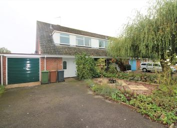 Thumbnail 3 bed semi-detached house for sale in Moorfield Road, Mattishall