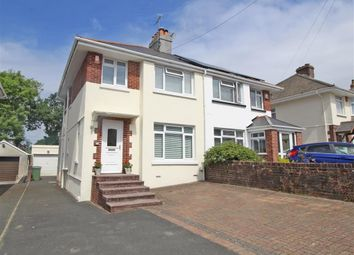 Thumbnail 3 bed semi-detached house for sale in Nicholson Road, Plymouth, Devon
