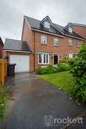 Thumbnail 4 bed town house to rent in Tansey Way, Lyme Valley, Newcastle Under Lyme