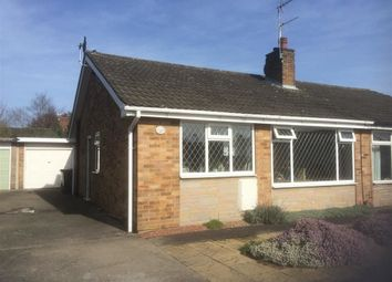 Thumbnail 2 bedroom semi-detached bungalow for sale in Beech Avenue, Bishopthorpe, York