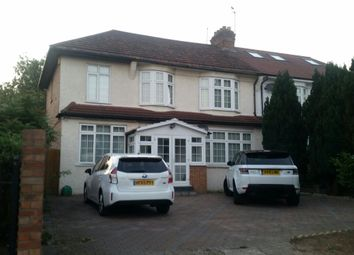 Thumbnail 5 bed semi-detached house to rent in Village Road, Enfield
