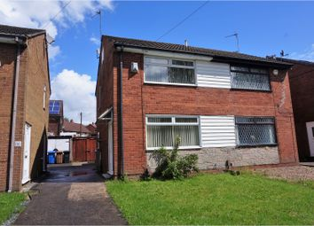 Thumbnail 2 bed semi-detached house for sale in Avon Close, Manchester