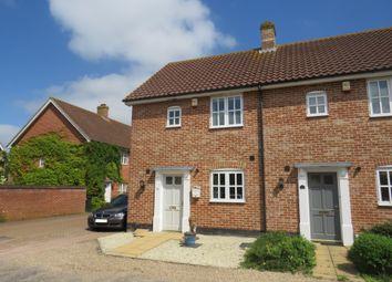 Thumbnail 2 bed end terrace house for sale in Porterbush Road, Mulbarton, Norwich