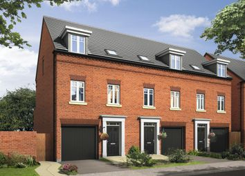 "Thumbnail 3 bed semi-detached house for sale in ""Hinton"" at Bayswater Square, Stafford"