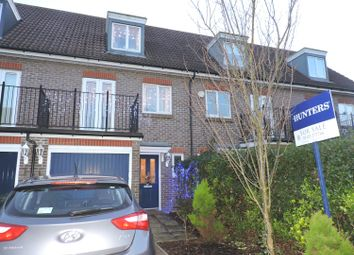Thumbnail 3 bedroom town house for sale in Baker Crescent, Dartford, Kent