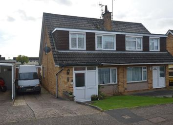 Thumbnail 3 bed semi-detached house for sale in Greenpark Road, Exmouth, Devon