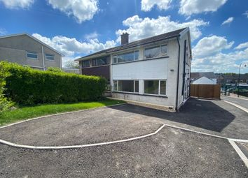 Thumbnail 4 bed semi-detached house for sale in Danygraig Crescent, Talbot Green, Pontyclun