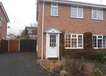 Thumbnail 2 bedroom semi-detached house to rent in Rowton Avenue, Perton, Wolverhampton