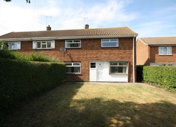 Thumbnail 3 bed semi-detached house to rent in Kathleen Ferrier Crescent, Laindon, Basildon