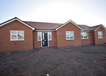 Thumbnail 3 bedroom detached bungalow for sale in Browning Street, Narborough, Leicester
