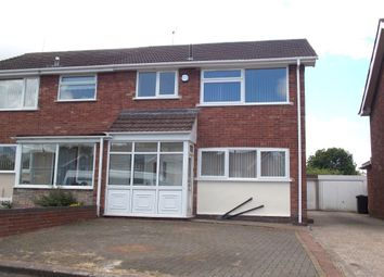 Thumbnail 3 bed semi-detached house to rent in Mears Drive, Stechford, Birmingham
