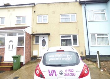 Thumbnail 2 bed terraced house to rent in Pembroke Avenue, Luton
