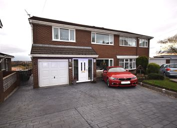 Thumbnail 4 bed semi-detached house for sale in Calverhey Close, Westhoughton