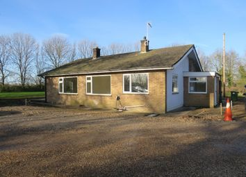 Thumbnail 3 bedroom bungalow to rent in Ramsey Road, Ramsey Forty Foot, Ramsey, Huntingdon