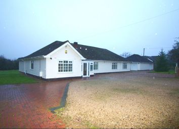 Thumbnail 6 bedroom bungalow to rent in Leicester Lane, Desford, Leicester