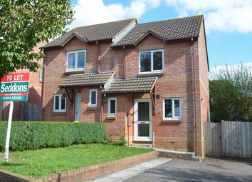 Thumbnail 2 bed semi-detached house to rent in Chaffinch Drive, Cullompton