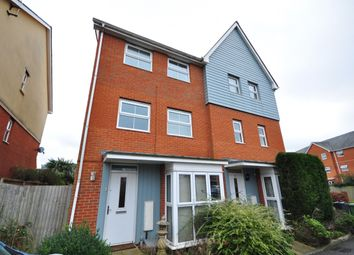 Thumbnail 5 bed semi-detached house to rent in Powell Gardens, Redhill