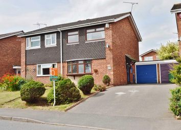 Thumbnail 3 bed semi-detached house for sale in Penkvale Road, Stafford