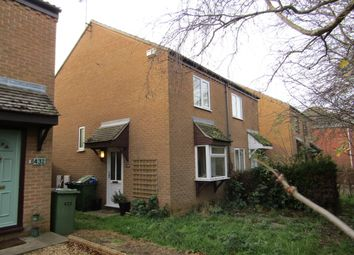Thumbnail 2 bed semi-detached house to rent in March Road, Turves
