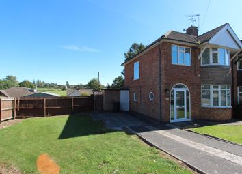 Thumbnail 3 bed semi-detached house to rent in Downing Drive, Leicester