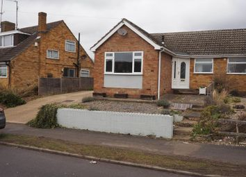 Thumbnail 2 bed semi-detached bungalow for sale in Shelley Road, Wellingborough