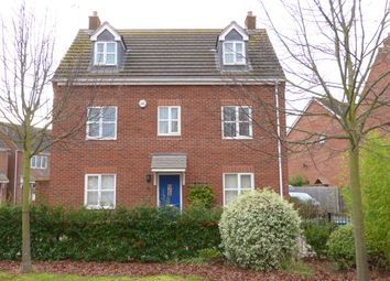 Thumbnail 5 bed detached house for sale in Mildenhall Way Kingsway, Quedgeley, Gloucester