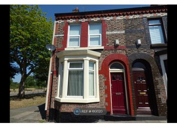 Thumbnail 3 bed end terrace house to rent in Woodbine Street, Liverpool