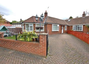 Thumbnail 3 bed semi-detached bungalow for sale in Woolsington Gardens, Woolsington, Newcastle Upon Tyne