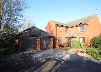 Thumbnail 4 bed detached house for sale in Minorca Grove, Shenley Brook End, Milton Keynes