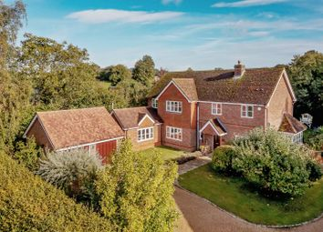 Thumbnail 5 bedroom detached house for sale in Hatherden Lane, Hatherden, Andover, Hampshire